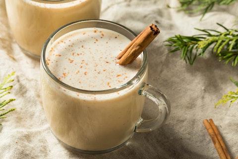 Homemade coquito for Navidad.