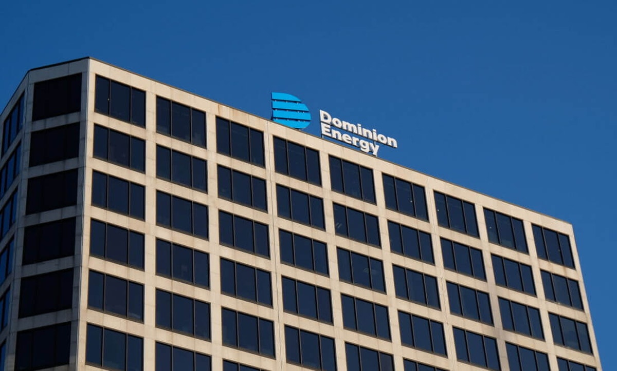 An image of the Dominion Energy offices
