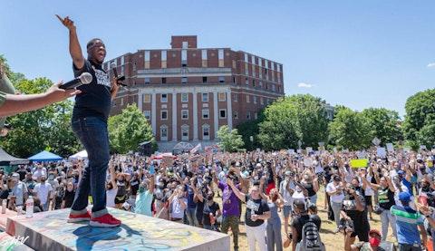 5,000 Man Protest in Richmond