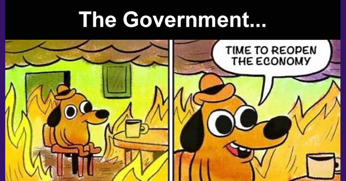 This Is Fine: The Best Coronavirus Memes on the Internet Right Now ...