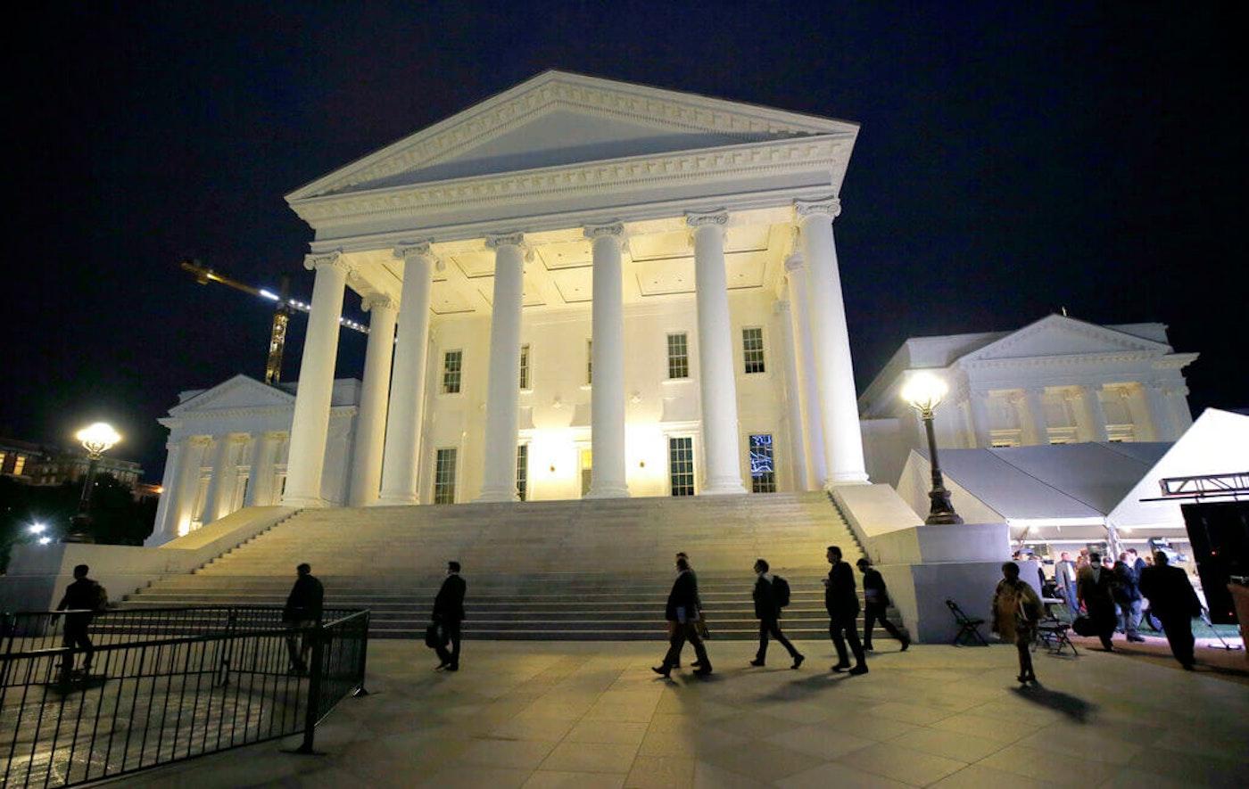 Virginia State Capitol in Richmond, Va. (Bob Brown/Richmond Times-Dispatch via AP, Pool)