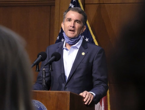 During a Tuesday press conference, Virginia Gov. Ralph Northam advised residents that their ballots would be secure.