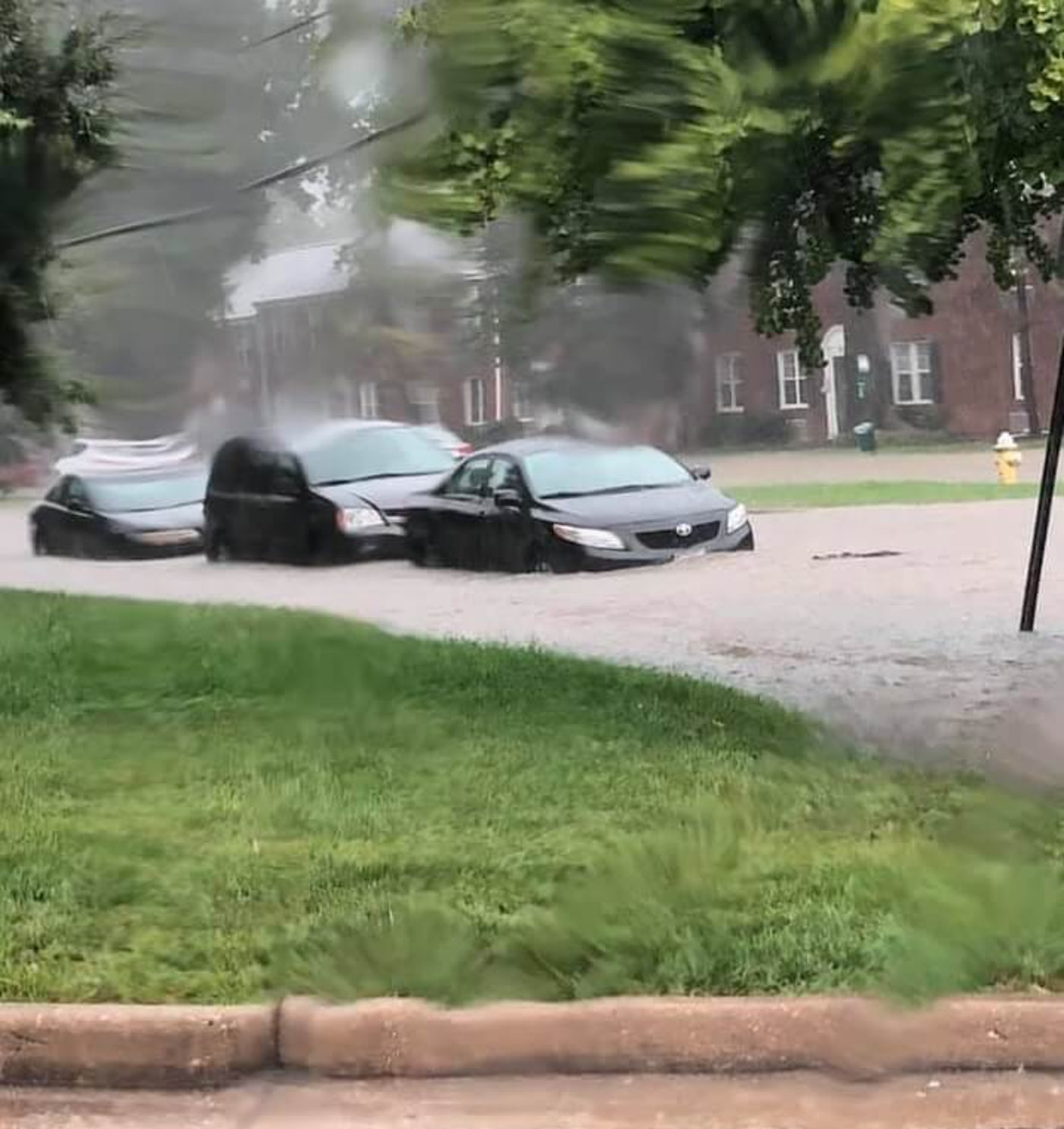 A look at Alexandria's Commonwealth Avenue after the Sept.  flood.