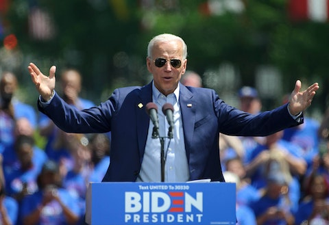 Joe Biden's lead keeps growing in Virginia, according to the latest polling numbers.