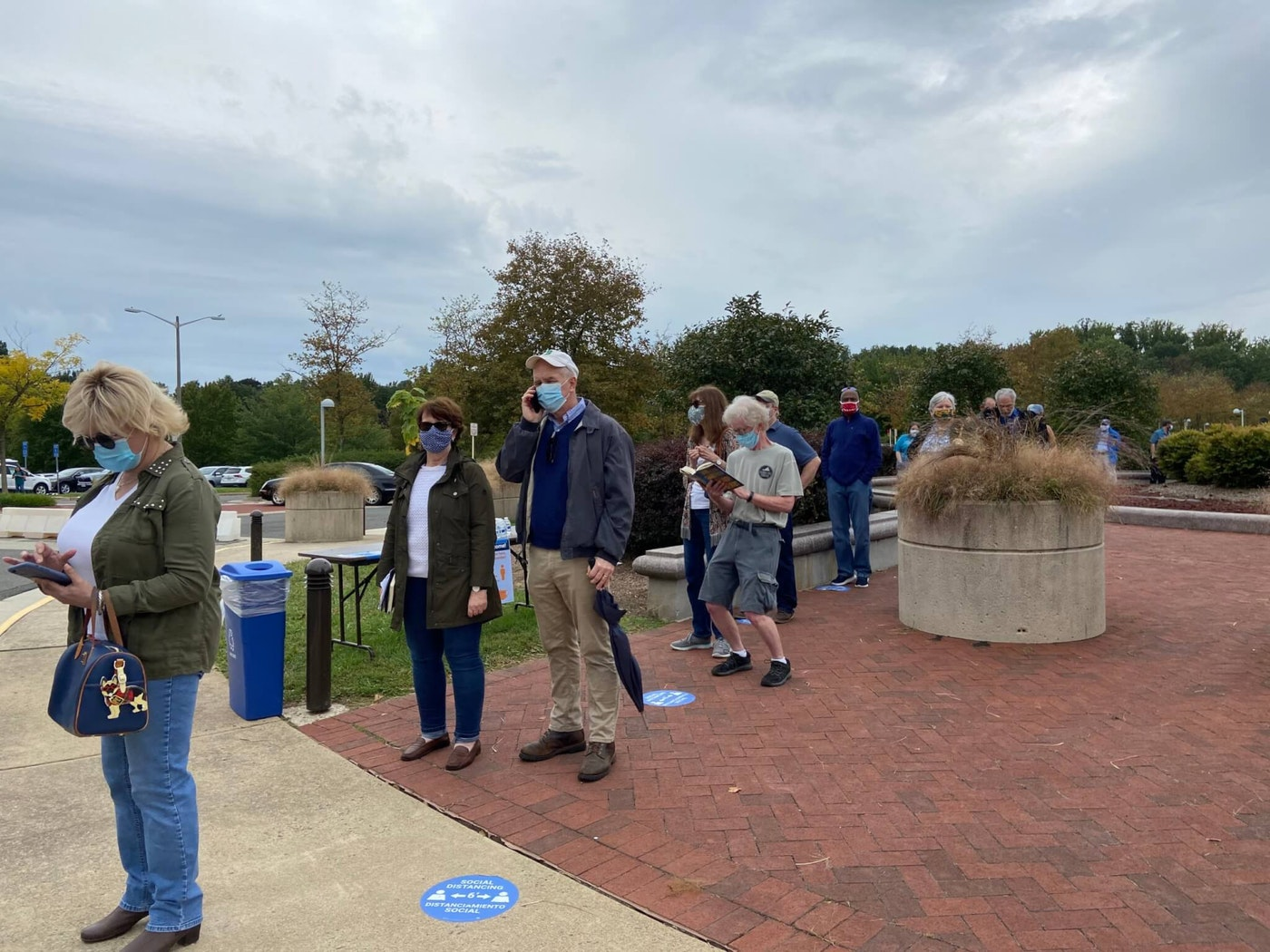Friday saw one of the biggest turnouts since early voting started in Fairfax County.