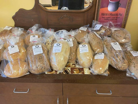Rising Sun Breads in Martinsville offers handcrafted loaves made by owner Darla Main-Schneider. Contributed photo.
