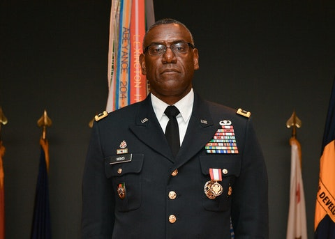 Maj. Gen. Wins Takes Over at VMI