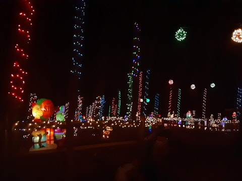 Decked from top to bottom, Noel Acres welcomes the Christmas season. Contributed photo.