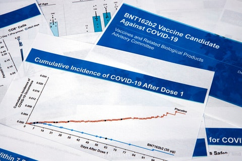 The Pfizer COVID vaccine is now just one step away from approval for use in the United States.