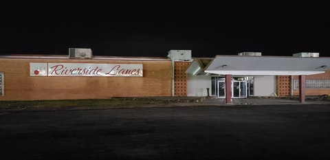 Riverside Lanes in Danville closed suddenly this month. Photo by Amie Knowles.
