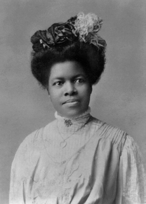 Nannie Helen Burroughs, 1879-1961, African American Educator and Civil Rights Activist, Half-Length Portrait, Rotograph Co, 1909. (Photo by: GHI Vintage/Universal History Archive/Universal Images Group via Getty Images)