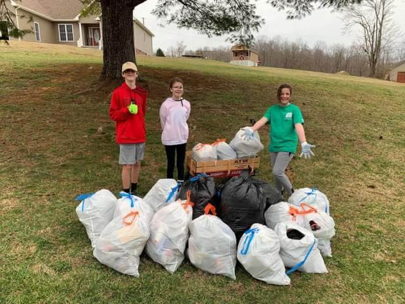 Families Help Clean Up Southwest Virginia