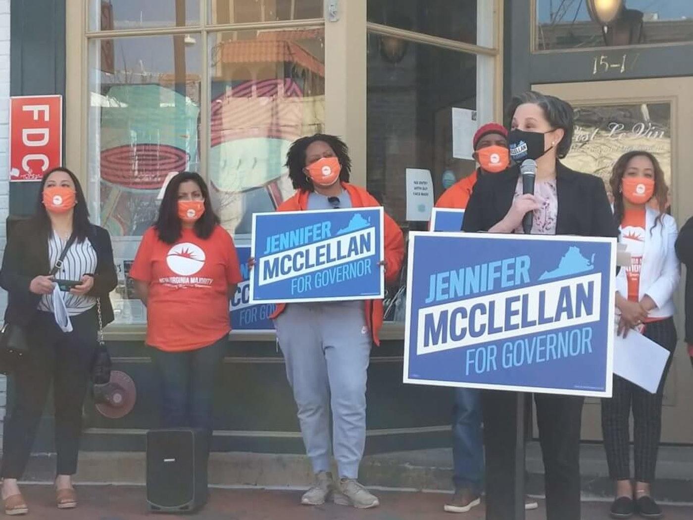 Jennifer McClellan Rolls Out Economic Plan in Richmond
