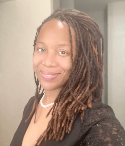 Princess Blanding is running for governor of Virginia.