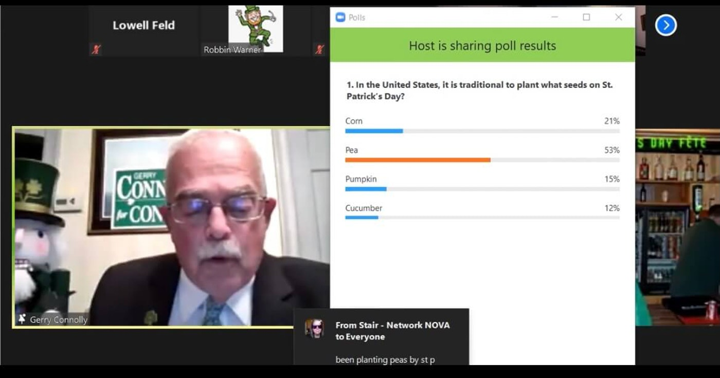 Gerry Connolly Offers the Poll Results