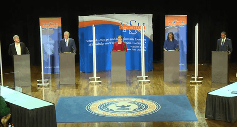 Democratic Candidates Meet For First Debate