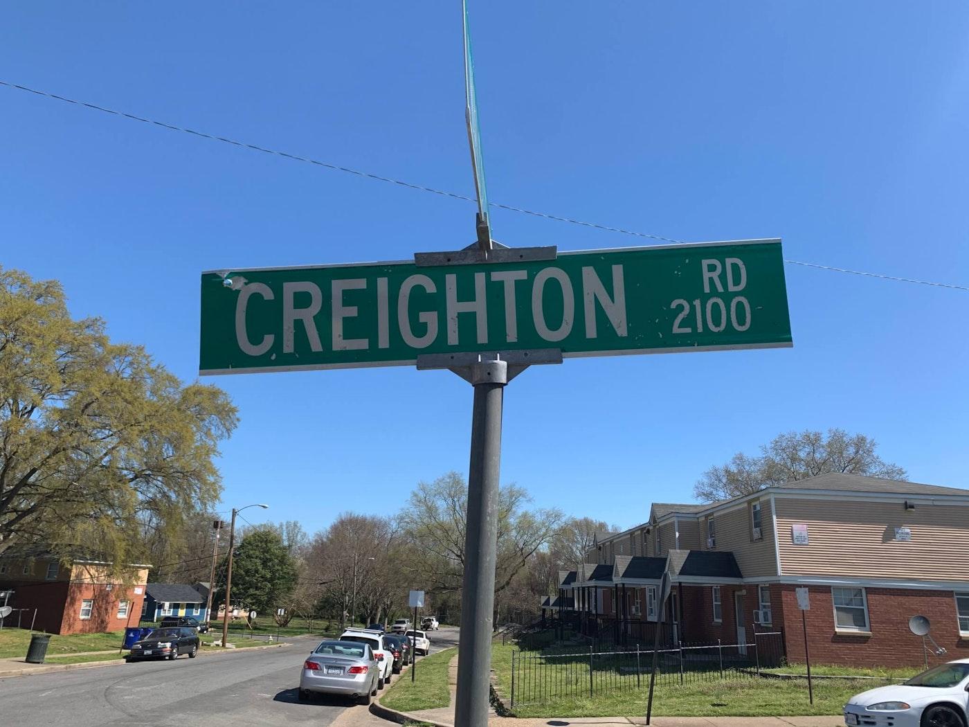 Creighton Rd.