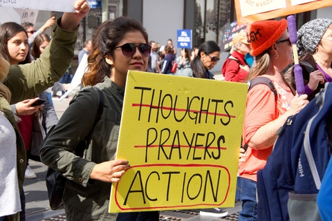 March 24, 2018 March for Our Lives By Sheila Fitzgerald