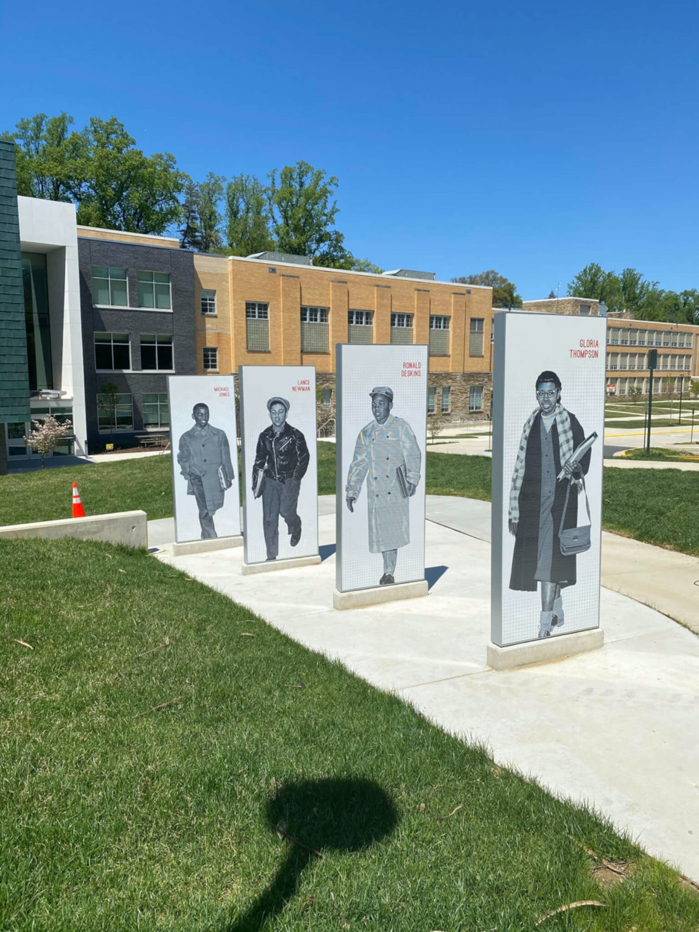 Contributed photo - The Stratford Commemorative Trail in Arlington traces the steps of four brave seventh graders as they desegregated Arlington Public Schools in 1959.