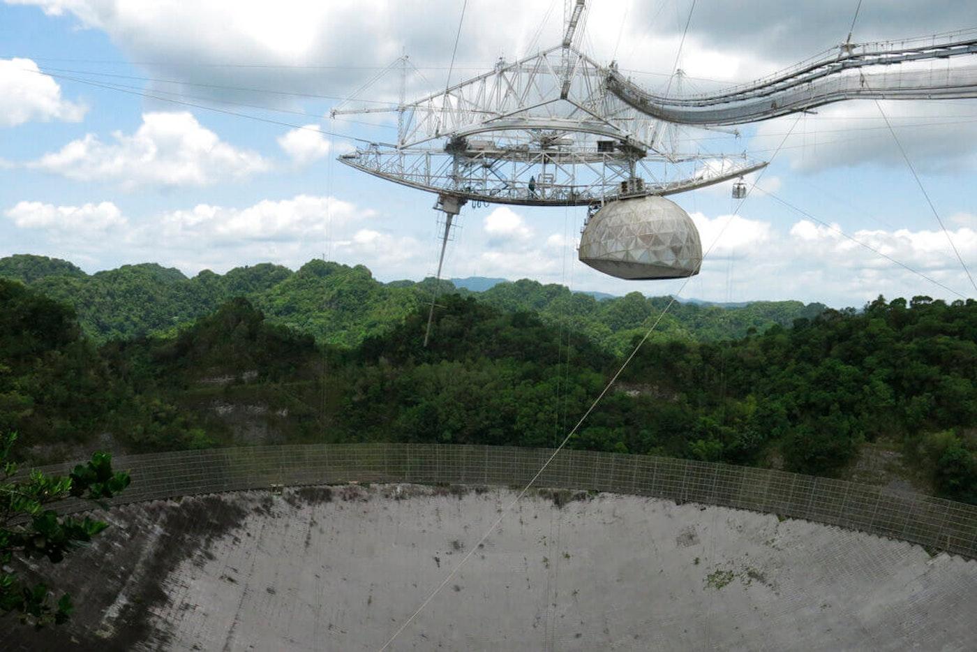 Puerto Rico-Arecibo-Telescope