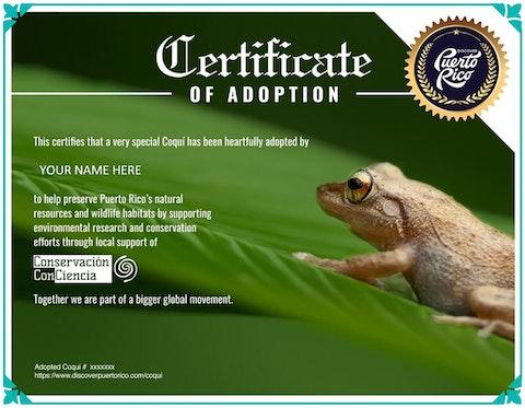 Adopt-Coqui-Certificate