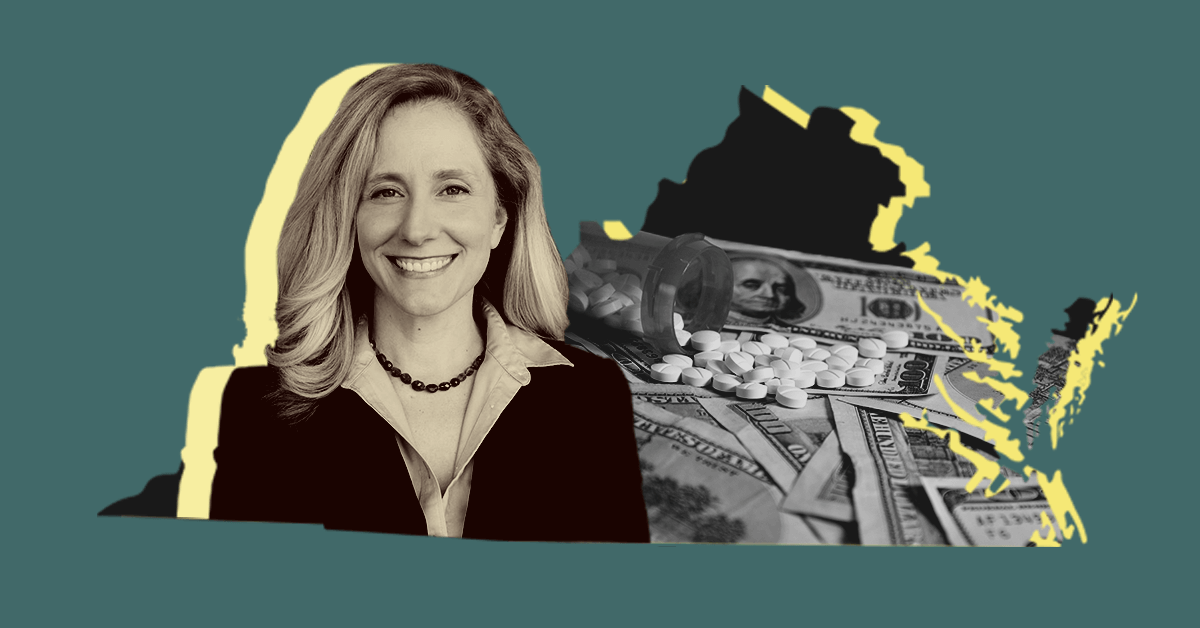 Graphic of Rep. Spanberger via COURIER