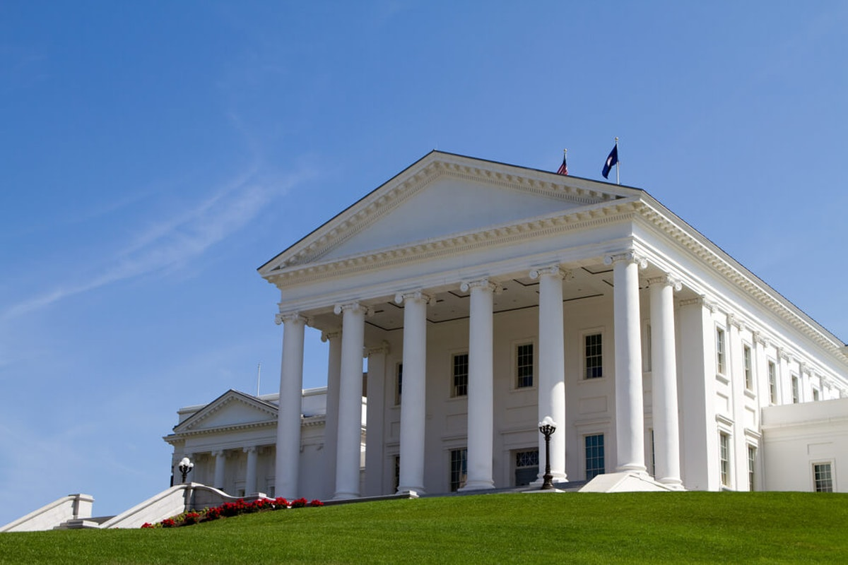 Virginia's state Capitol in Richmond