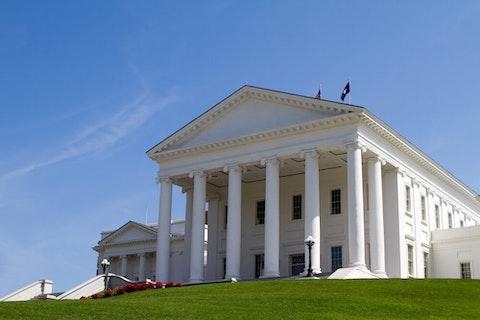 Virginia's state Capitol in Richmond