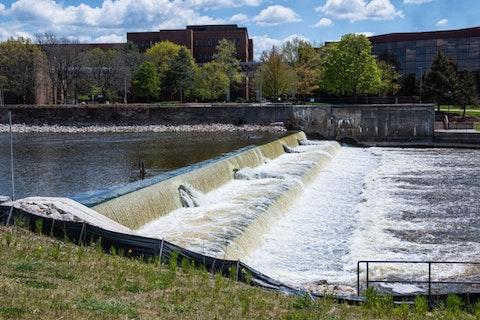 Flint River in Michigan | Image via Shutterstock