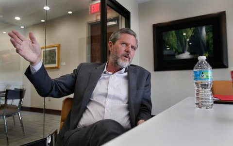 Jerry Falwell Jr. (AP Photo/Steve Helber)