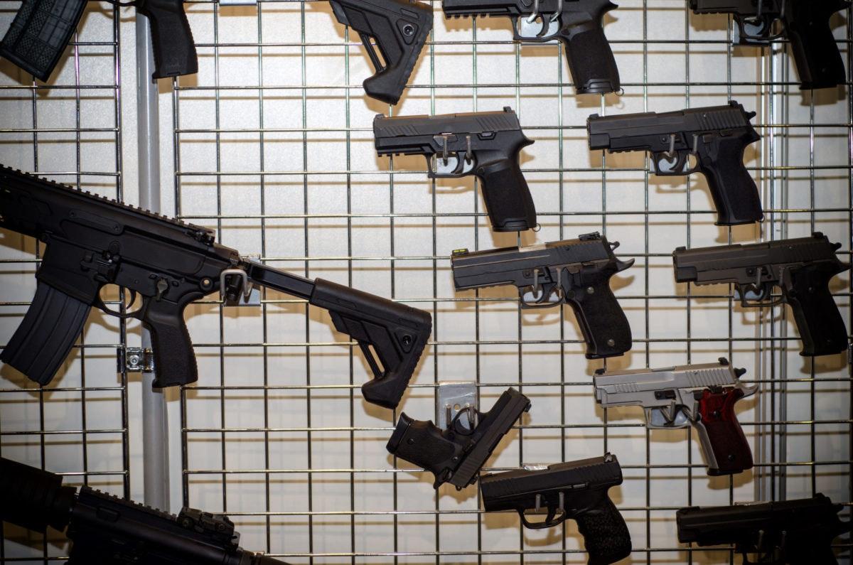Coronavirus cases have caused an increase in gun sales