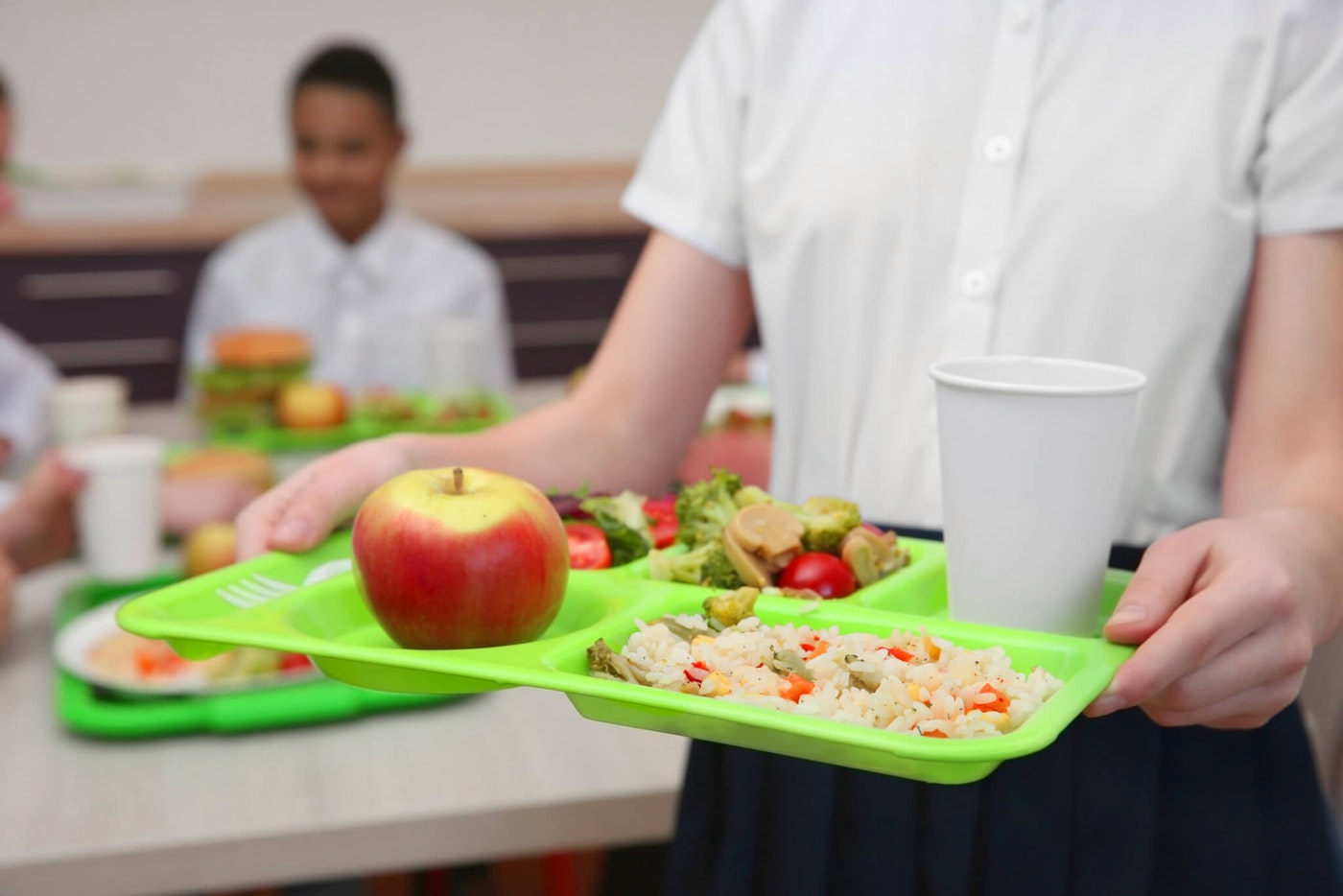 Millions of children may not have access to lunch as schools close during the coronavirus pandemic.