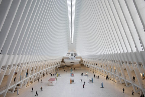 FILE - This March 16, 2020, file photo shows the Oculus at the World Trade Center's transportation hub in New York. Census Day, the April 1 reference day for the once-a-decade effort to count everyone in the U.S., arrived Wednesday with a nation almost paralyzed by the spread of the novel coronavirus, but census officials vowed the job would be completed by its year-end deadline. (AP Photo/Mark Lennihan, File)