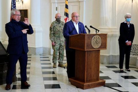 Maryland Gov. Larry Hogan (AP Photo/Brian Witte)