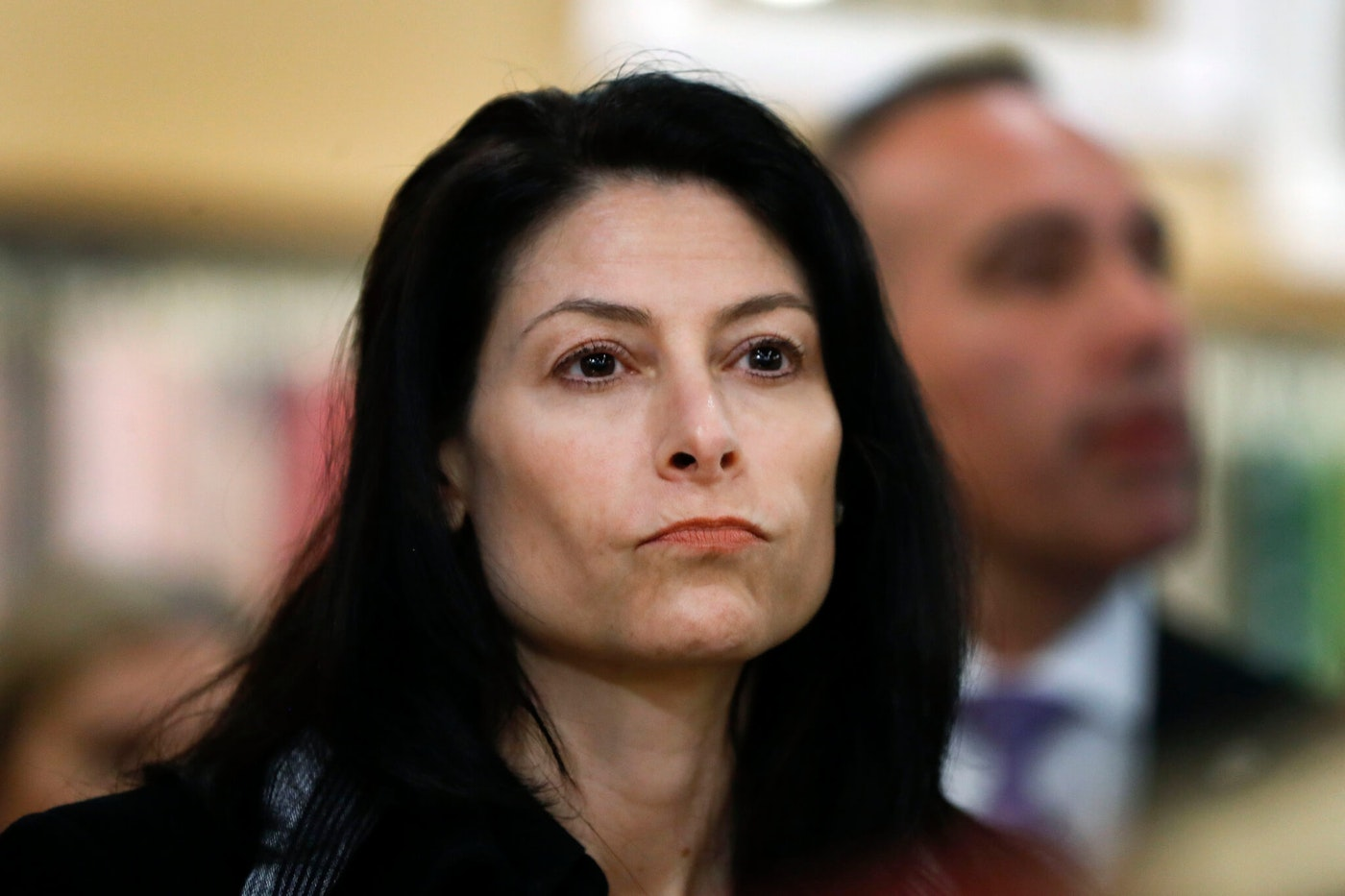 In this March 18, 2019, file photo, Michigan Attorney General Dana Nessel attends an event in Clawson, Mich. A Michigan judge has struck down a new requirement that makes it harder to initiate ballot drives by limiting the number of signatures that can be counted from a single congressional district. Nessel previously said the 15% limit and other portions of the law are unconstitutional. State election officials are complying with her opinion, but appellate courts will have the final say. (AP Photo/Paul Sancya File)