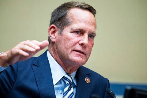 Rep. Harley Rouda (Tom Williams/Pool via AP)