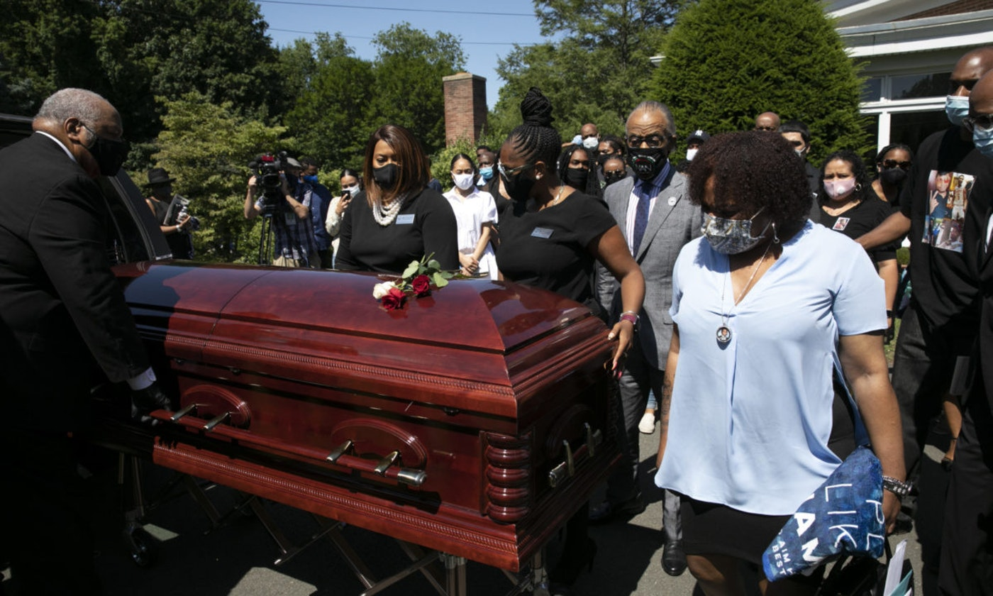 Gun violence has soared in cities led by both Republicans and Democrats this summer, and has exacted an uneven toll. Brandon Hendricks-Ellison of Bronxville, N.Y. was shot June 29 two days after he graduated from James Monroe High School. (AP Photo/Mark Lennihan)