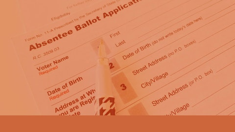 Millions of Americans will be casting absentee ballots this year (Graphic by COURIER/Denzel Boyd; Shutterstock/rchat).