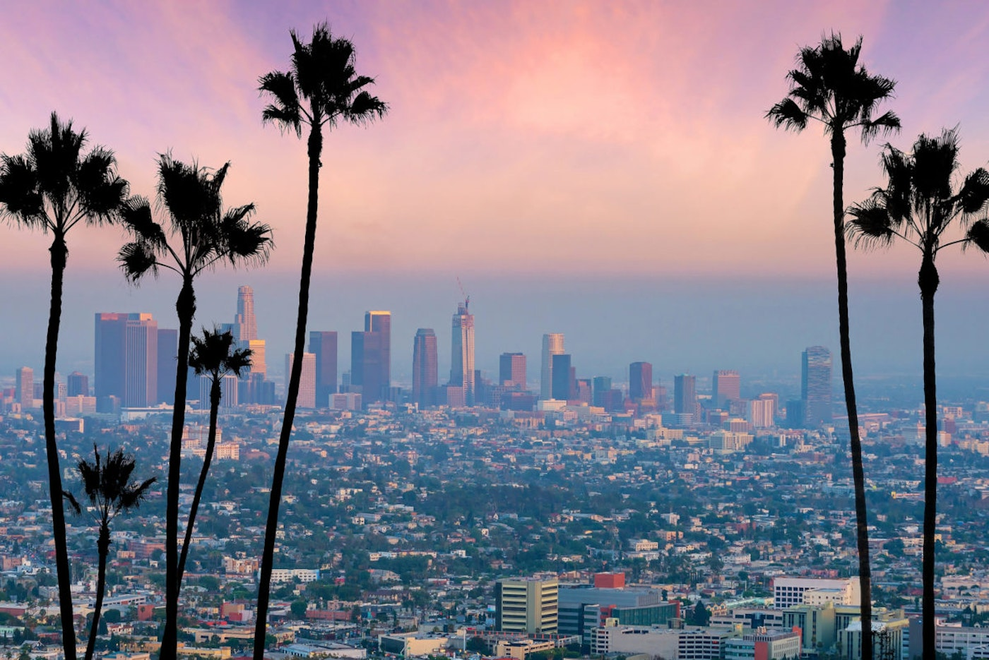 Los Angeles is among the cities where a guaranteed minimum income pilot program may be launched soon (Shutterstock).