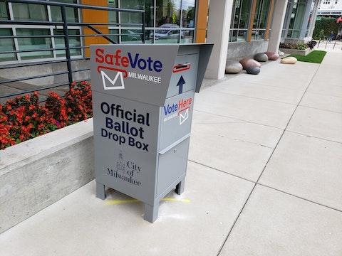 drop boxes absentee ballots