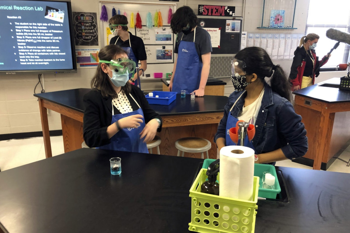 Schools across the country are bracing for steep budget cuts as the coronavirus pandemic continues (AP Photo/Jeff Amy).