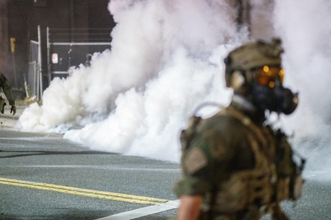 Portland environmental groups sue over use of tear gas