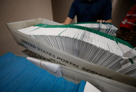 Send your ballot by mail today Oct. 27