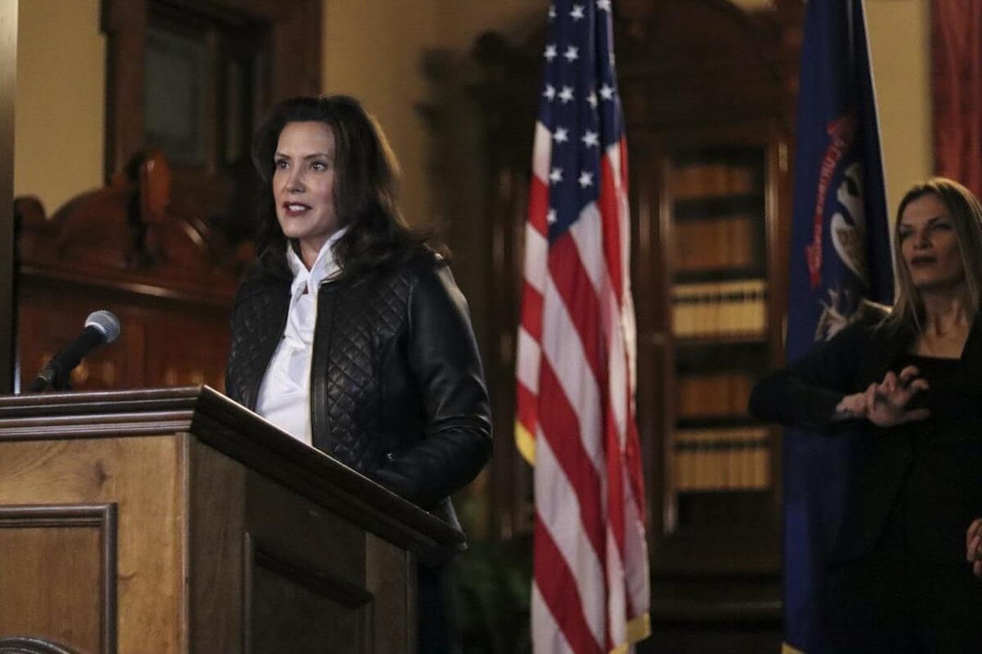 Michigan Gov. Gretchen Whitmer (Photo via Michigan Office of the Governor)