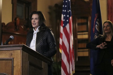Michigan Gov. Gretchen Whitmer (Photo via Michigan Office of the Governor)