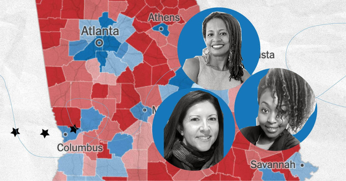Georgia's suburban voters tell COURIER why they voted for Biden and why Georgia finally went blue.