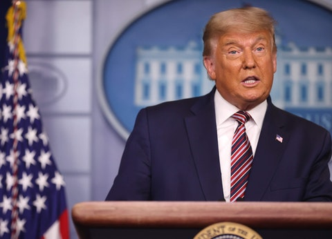 President Donald Trump has refused to allow the transition of power to begin, sparking concerns about national security. (Photo by Chip Somodevilla/Getty Images)