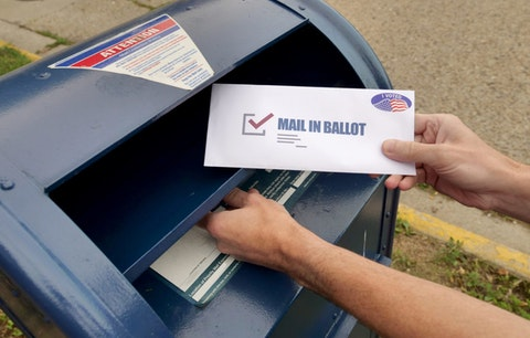 As mail-in voting surged in 2020, experts insist that counting every vote will take time—and that's completely democratic. (Shutterstock)
