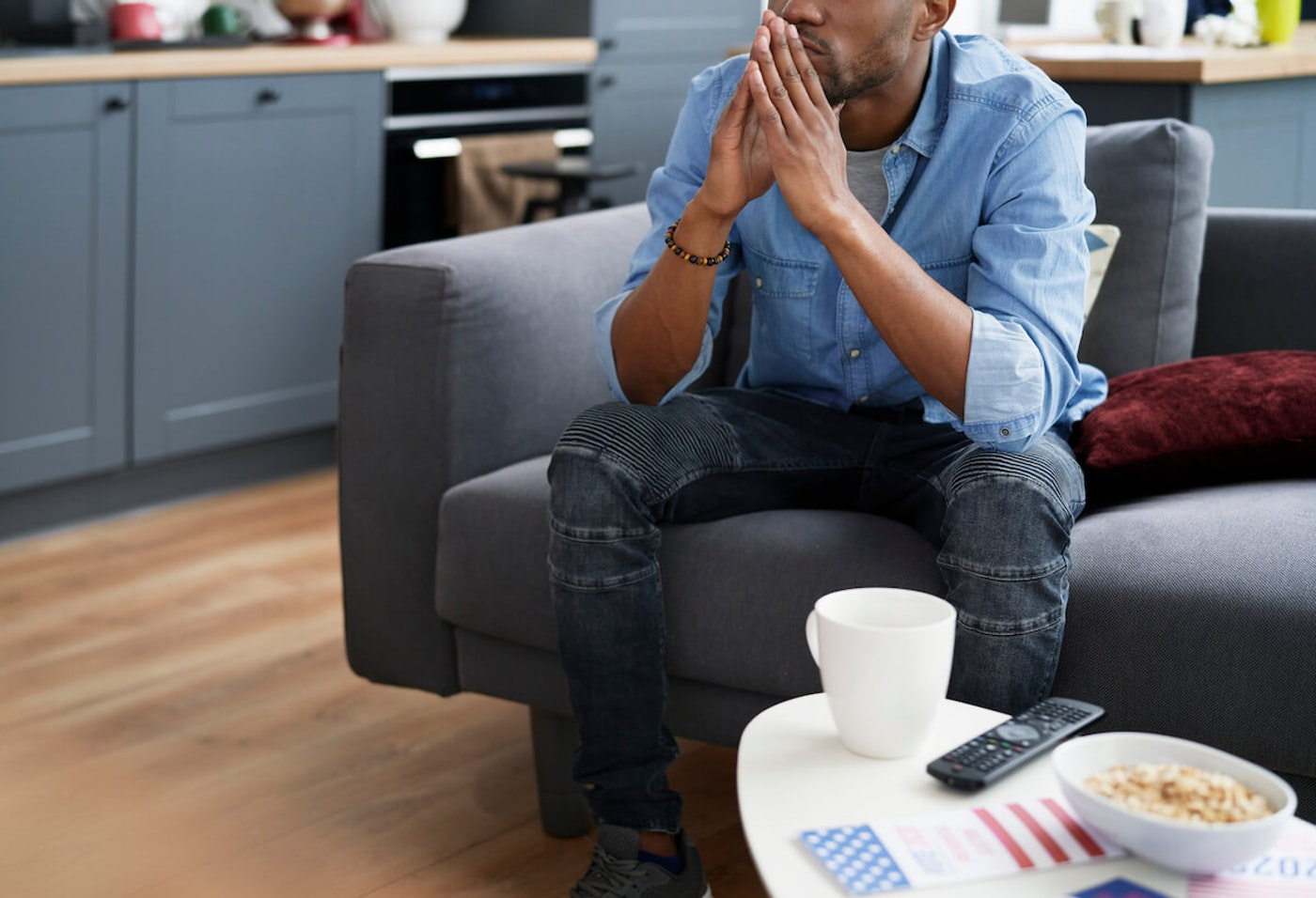 Tips for dealing with election stress. Image via Shutterstock