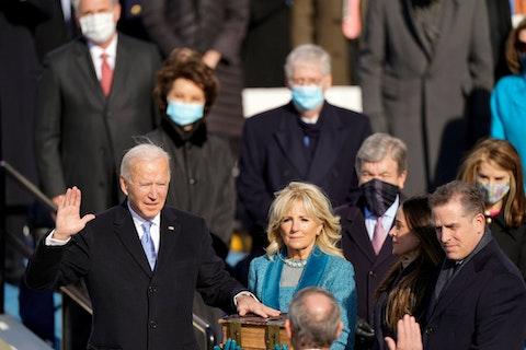 Joe Biden sworn in as president